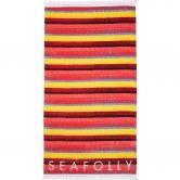 Seafolly - Baja Stripe Towel saffron