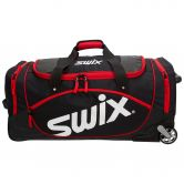 Swix - Wheeled Cargo Duffel 92l black red