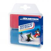 Holmenkol - Worldcup Mix Ski Wax cold red blue