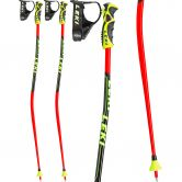 LEKI - Worldcup Lite GS Kids neon red black white yellow