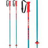 LEKI - Rider Kids petrol white blue neon red
