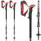 LEKI - Sherpa XL Speedlock2 black red