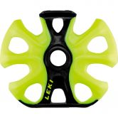LEKI - Big Mountain Binding Basket 2K black neon yellow