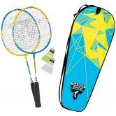 Talbot Torro - Badminton-Set 2 Attacker Junior blau gelb