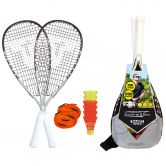 Talbot Torro - Speedbadminton Set Speed 7700 silber