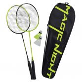 Talbot Torro - Badminton Set Magic Night LED black neon yellow