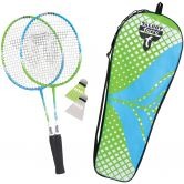 Talbot Torro - Badminton Set Attacker Junior green cyan