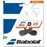 Babolat - RPM Blast 1.25 + VS 1.30 Tennissaite schwarz