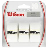 Wilson - Pro Overgrip Perforated 3er weiß