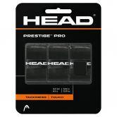Head - Prestige Pro Griffbänder 3er schwarz