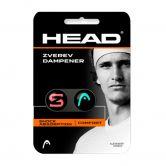 Head - Zverev Dampener Vibrationsdämpfer 2er Pack schwarz