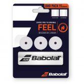 Babolat - Syntec Pro Grip + VS Original Overgrip Doppelpackung weiß