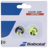Babolat - Custom Damp Vibrationsdämpfer X2 142 schwarz-gelb