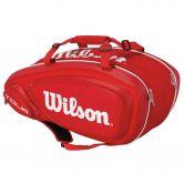 Wilson - Tour V9 Pack rot