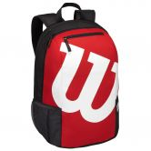 Wilson - Match II Backpack schwarz rot