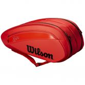 Wilson - Federer DNA 12 Pack Tennistasche infrared