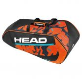 Head - Radical 9R Supercombi schwarz orange