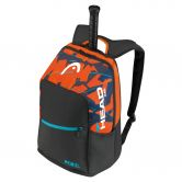 Head - Rebel Backpack schwarz orange