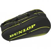 Dunlop - SX Performance 8 Racket Thermo Tennistasche schwarz gelb