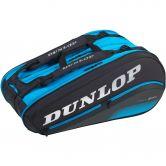Dunlop - FX Performance 12 Racket Thermo Tennistasche schwarz blau