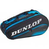 Dunlop - FX Performance 8 Racket Thermo Tennistasche schwarz blau