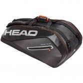 Head - Tour Team 9R Supercombi Tennis Bag black silver