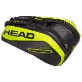 Head - Tour Team Extreme 9R Supercombi Tennistasche schwarz gelb