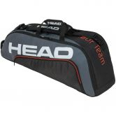 Head - Tour Team 6R Combi Tennis Bag black grey