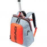 Head - Kids Backpack Rebel Tennisrucksack Kinder grau orange