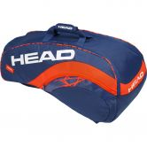 Head - Radical 9R Supercombi Racket Bag blue orange