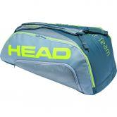 Head - Tour Team Extreme 9R Supercombi Tennis Bag grey neon yellow