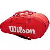 Wilson - Super Tour 2 Comp Tennistasche rot