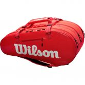 Wilson - Super Tour 3 Comp Tennis Bag red