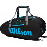 Wilson - Ultra 9 Pack Tennistasche schwarz blau silber