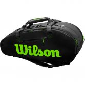 Wilson - Super Tour 2 Comp Tennistasche charcoal green