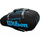Wilson - Ultra 15 Pack Tennistasche schwarz blau silber