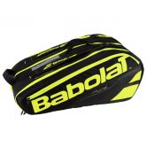 Babolat - Pure Line Racket Holder X12 schwarz gelb