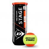 Dunlop - D TB Stage 2 Tennis Balls Set of 3 orange