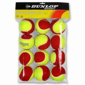 Dunlop - Stage 3 Mini Tennisball 12er Pack