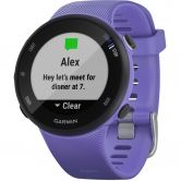 Garmin - Forerunner 45 Small iris black