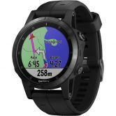 Garmin - fenix 5s Plus black