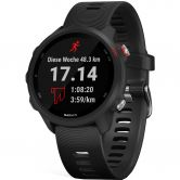 Garmin - Forerunner 245 Music black red