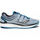 Saucony - Hurricane ISO4 running shoes men grey blue