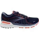 Brooks - Adrenaline GTS 21 Laufschuhe Herren navy red clay gray