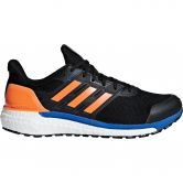 adidas - Supernova GTX Running Shoes Men core black hi-res orange hi-res blue