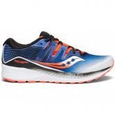 Saucony - Ride ISO Running Shoes Men white blue vizired
