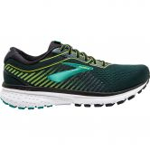 Brooks - Ghost 12 Running Shoes Men black lime blue grass