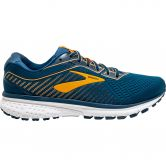 Brooks - Ghost 12 Running Shoes Men poseidon grey orange