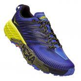 HOKA - Speedgoat 4 Trail Running Shoes Men black iris evening primrose