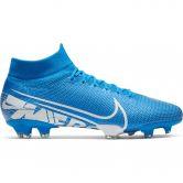 Nike - Mercurial Superfly 7 Pro FG Fußballschuh Herren blue hero white obsidian